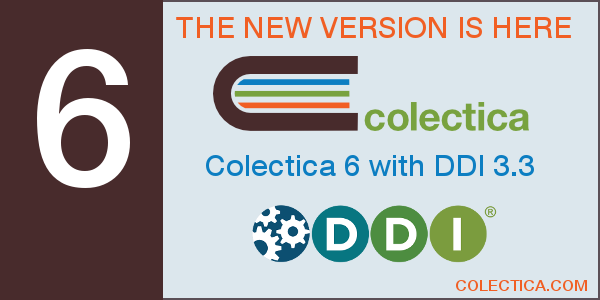 Colectica 6 with DDI 3.3